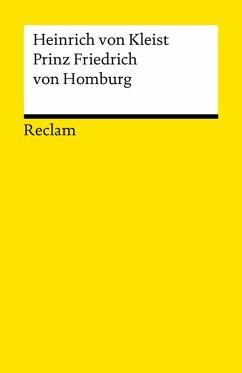 Prinz Friedrich von Homburg (eBook, ePUB) - Kleist, Heinrich von