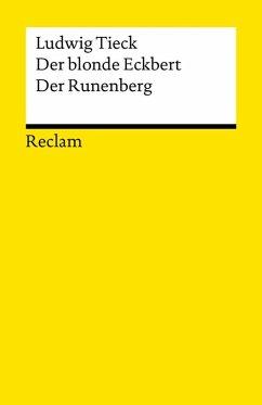 Der blonde Eckbert. Der Runenberg (eBook, ePUB) - Tieck, Ludwig
