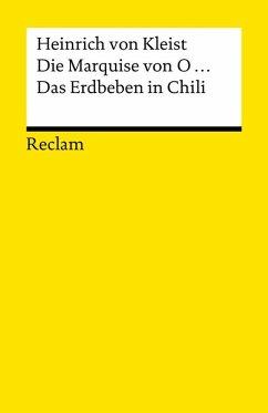 Die Marquise von O... . Das Erdbeben in Chili (eBook, ePUB) - Kleist, Heinrich Von