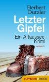 Letzter Gipfel / Gasperlmaier Bd.2 (eBook, ePUB)