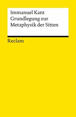 Grundlegung zur Metaphysik der Sitten (eBook, ePUB) - Kant, Immanuel