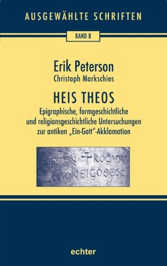 Heis Theos (eBook, PDF) - Peterson, Erik