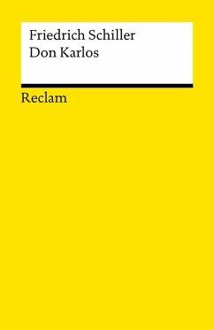 Don Karlos, Infant von Spanien (eBook, ePUB) - Schiller, Friedrich