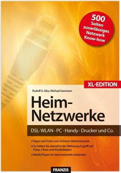 Heim-Netzwerke XL-Edition (eBook, PDF) - Glos, Rudolf G.; Seemann, Michael