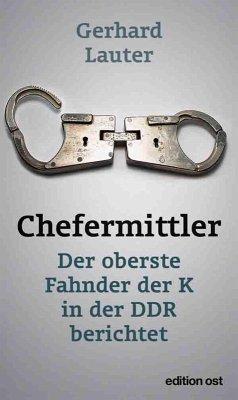Chefermittler (eBook, ePUB) - Lauter, Gerhard