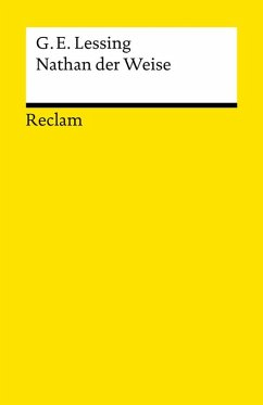 Nathan der Weise (eBook, ePUB) - Lessing, Gotthold Ephraim