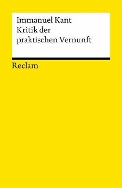Kritik der praktischen Vernunft (eBook, ePUB) - Kant, Immanuel