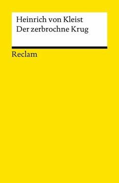 Der zerbrochne Krug (eBook, ePUB) - Kleist, Heinrich Von