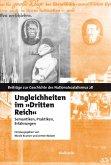"""Ungleichheiten im """"Dritten Reich"""" (eBook, PDF)"""