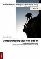 Demokratieimpulse von außen (eBook, PDF) - Grimme, Steffen