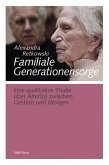 Familiale Generationensorge (eBook, PDF)