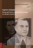 Hanns Eisele (eBook, PDF)