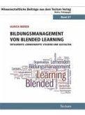 Bildungsmanagement von Blended Learning (eBook, PDF)