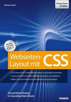 Webseiten-Layout mit CSS (eBook, ePUB) - Gull, Clemens
