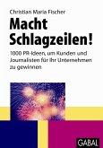 Macht Schlagzeilen! (eBook, PDF)