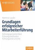 Grundlagen erfolgreicher Mitarbeiterführung (eBook, PDF)