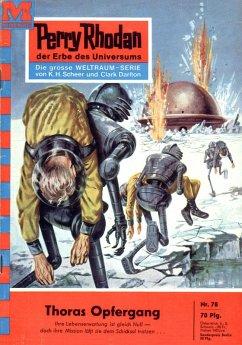 Thoras Opfergang (Heftroman) / Perry Rhodan-Zyk...