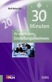 30 Minuten für qualifizierte Einstellungsinterviews (eBook, PDF)