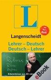 Langenscheidt Lehrer-Deutsch/Deutsch-Lehrer (eBook, ePUB)