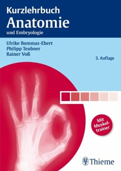 Kurzlehrbuch Anatomie (eBook, PDF) - Bommas-Ebert, Ulrike; Teubner, Philipp; Voß, Rainer
