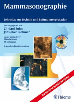 Mammasonographie (eBook, PDF) - Blohmer, Jens-Uwe; Sohn, Christof