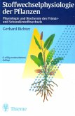 Stoffwechselphysiologie der Pflanzen (eBook, PDF)