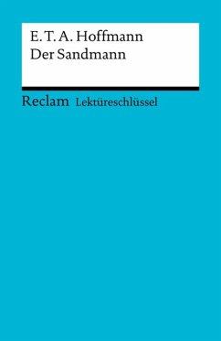 Lektüreschlüssel. E. T. A. Hoffmann: Der Sandmann (eBook, ePUB) - Bekes, Peter