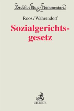 Sozialgerichtsgesetz - SGG, Kommentar