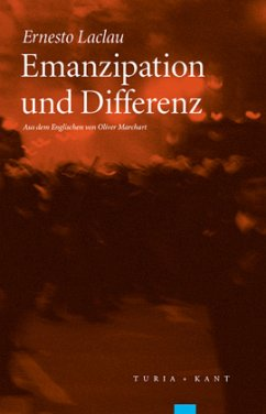Emanzipation und Differenz - Laclau, Ernesto