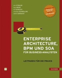 Enterprise Architecture, BPM und SOA für Business-Analysten (eBook, PDF)