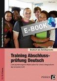Training Abschlussprüfung Deutsch (eBook, PDF)
