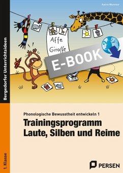 Phonologische Bewusstheit entwickeln 1 (eBook, PDF) - Wemmer, Katrin