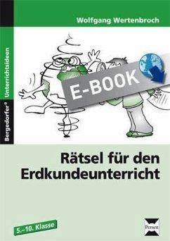 Rätsel für den Erdkundeunterricht (eBook, PDF) - Wertenbroch, Wolfgang
