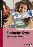 Einfache Texte lesen und verstehen (eBook, PDF)