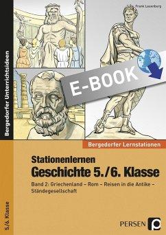 Stationenlernen Geschichte 5./6. Klasse (eBook, PDF) - Lauenburg, Frank