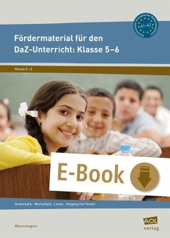 Fördermaterial für den DaZ-Unterricht: Klasse 5-6 (eBook, PDF) - Angioni, Milena