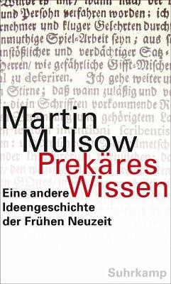 Prekäres Wissen (eBook, ePUB) - Mulsow, Martin