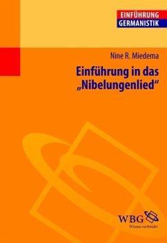 Einführung in das Nibelungenlied (eBook, PDF) - Miedema, Nine