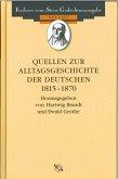 Quellen zur Alltagsgeschichte der Deutschen 1815-1870 (eBook, PDF)