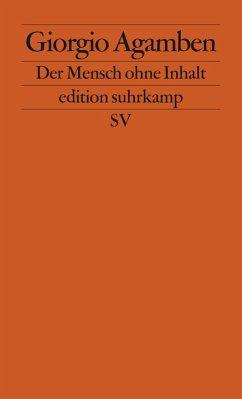 Der Mensch ohne Inhalt (eBook, ePUB) - Agamben, Giorgio