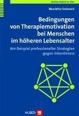 Bedingungen von Therapiemotivation bei Menschen im höheren Lebensalter (eBook, PDF)