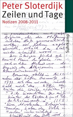 Zeilen und Tage (eBook, ePUB) - Sloterdijk, Peter