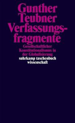 Verfassungsfragmente (eBook, ePUB) - Teubner, Gunther