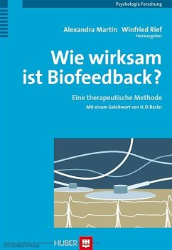 Wie wirksam ist Biofeedback? (eBook, PDF)