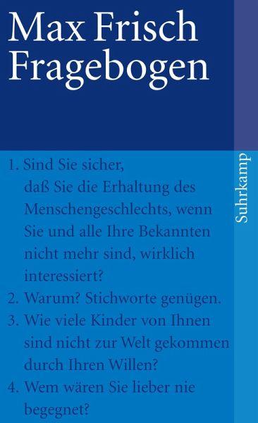 Fragebogen ebook epub von max frisch bcher fandeluxe Images