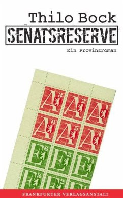 Senatsreserve (eBook, ePUB) - Bock, Thilo