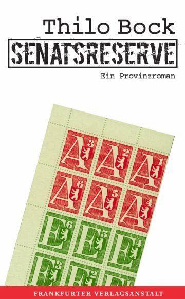 Senatsreserve (eBook, ePUB) - Thilo Bock