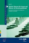 Gleiche Chancen für Frauen und Männer mit Berufsausbildung? (eBook, PDF)
