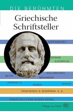 Griechische Schriftsteller (eBook, PDF) - Nickel, Rainer