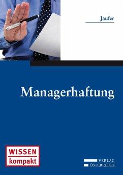 Managerhaftung (eBook, ePUB) - Jaufer, Clemens